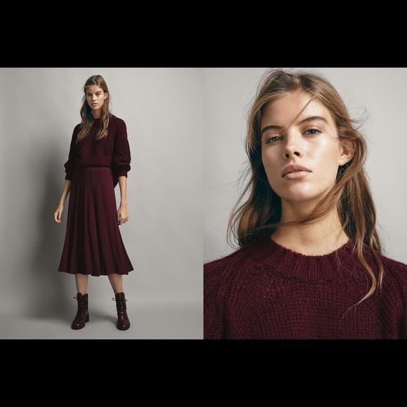 Massimo Dutti wool sweater size M